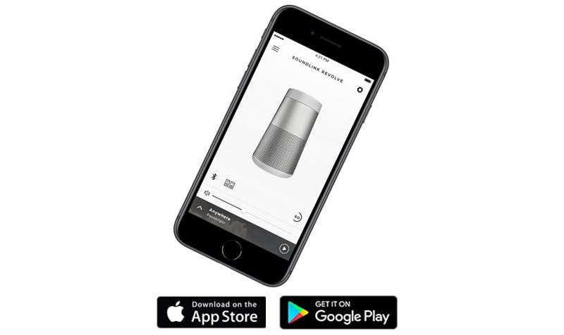 Kết nối loa Bose Soundlink Revolve Plus II với điện thoại qua ứng dụng Bose Connect