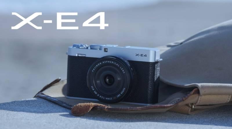 Đánh giá máy ảnh Fujifilm X-E4