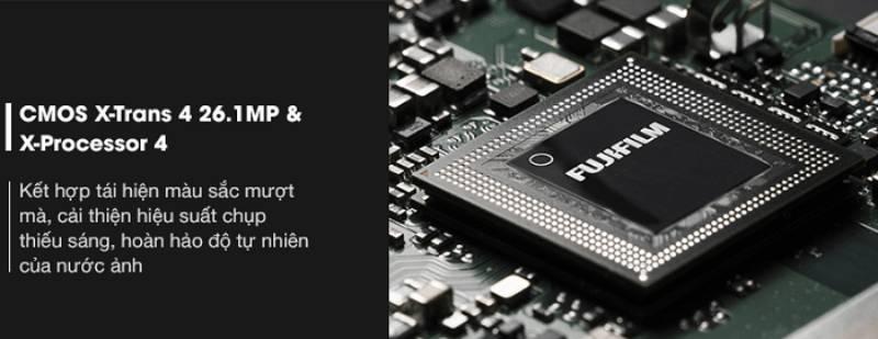Cảm biến X-Trans CMOS 4 và bộ xử lý X-Processor 4