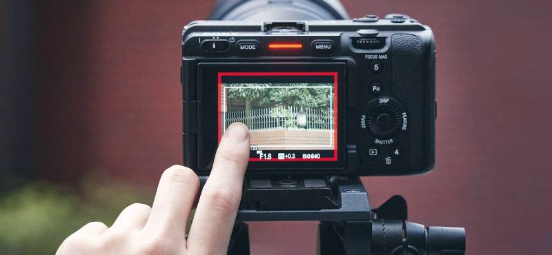 Màn hình cảm ứng LCD nghiêng lật