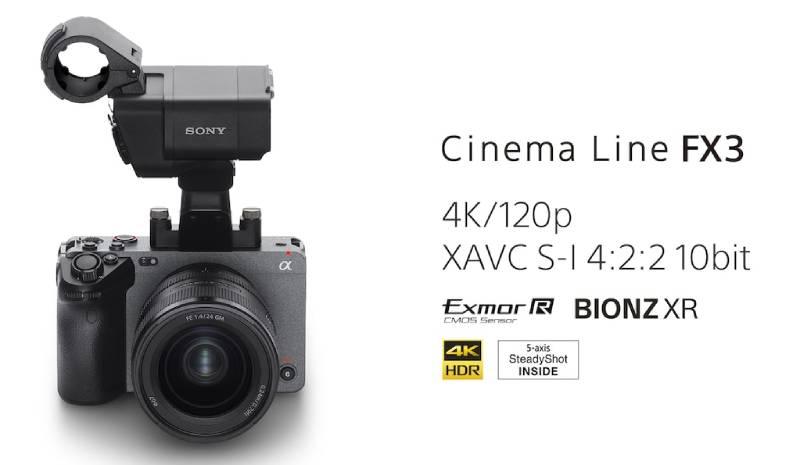 Đánh giá máy quay Sony FX3