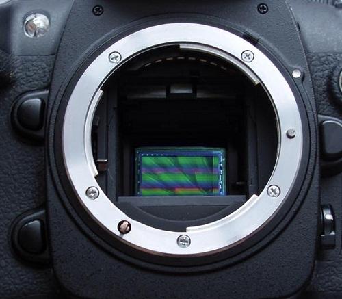Các loại cảm biến máy ảnh