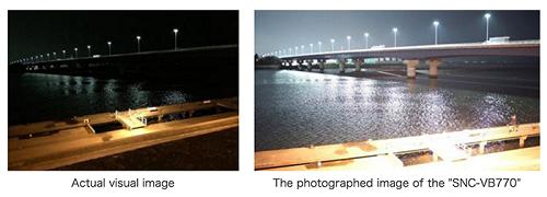 Chụp trong ánh sáng 0.004 lux với camera 4K Sony SNC-VB770