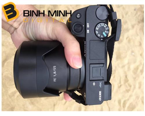 Trên tay với Sony Alpha A6300