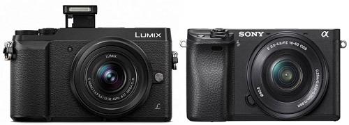 So sánh máy ảnh Sony A6300 và máy ảnh Panasonic GX85