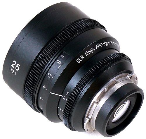 SLR Magic phát hành 2 ống kính APO - HyperPrime Cine