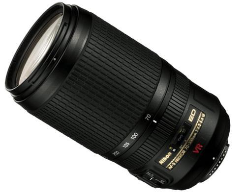 Ống kính Nikon mới là AF-S Nikkor 70-300mm f/4.5-5.6 II (VR) sắp được tung ra