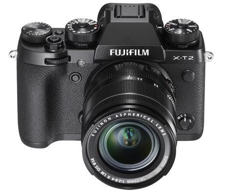 Chính thức ra mắt máy ảnh Fujifilm X-T2