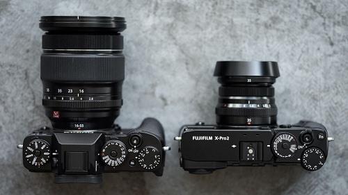 So sánh máy ảnh Fujifilm X-T2 và Fujifilm X-Pro2