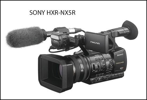 Sony công bố máy quay HXR-NX5R thế hệ mới
