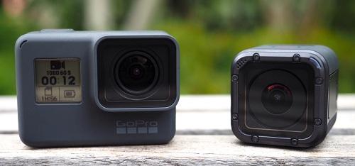 Điểm giống và khác nhau giữa GoPro Hero5 Black và Hero5 Session