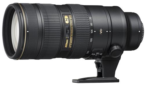 Nikon cho ra mắt ống kính AF-S NIKKOR 70-200mm f/2.8E FL ED VR cho máy ảnh Full Frame