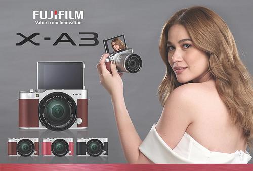 Máy ảnh Fujifilm X-A10 sắp lộ diện