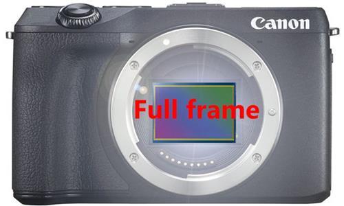 Canon đang phát triển máy ảnh mirroress sử dụng cảm biến Full-frame