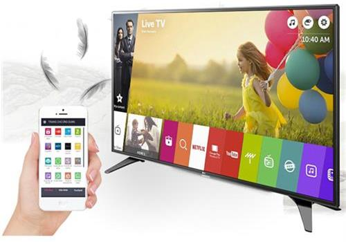 Top 5 tivi LG Internet đáng mua trong tầm giá 10 triệu