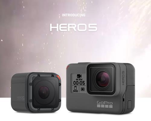 Máy quay GoPro Hero 5 chính thức ra mắt tại Việt Nam