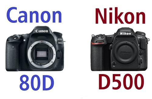 Canon EOS 80D - Nikon D500 - Sony A6300 máy ảnh prosumer nào tốt nhất  năm 2016?