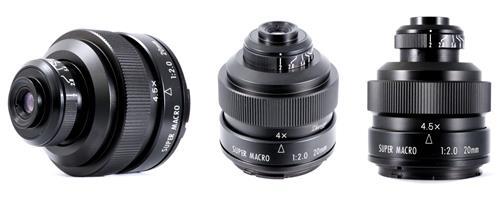 Mitakon 20mm F2 4.5X- ống kính macro siêu phóng đại lên tới 4.5x