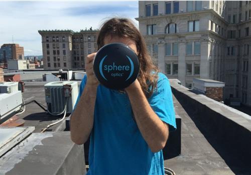 Độc đáo ống kính Sphere biến máy ảnh DSLR thành máy ảnh 360 độ