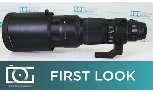 Sức mạnh của ống kính Sigma 500mm F/4 Sport sắp ra mắt