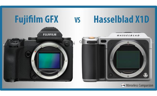 So sánh máy ảnh Fujifilm GFX 50S và máy ảnh Hasselblad X1D 50C