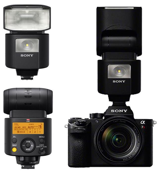 Sony giới thiệu đèn Flash HVL-F45RM điều khiển bằng sóng radio