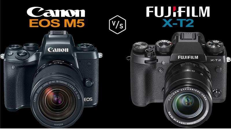 Fujifilm X-T2 và Canon EOS M5: So sánh và đánh giá