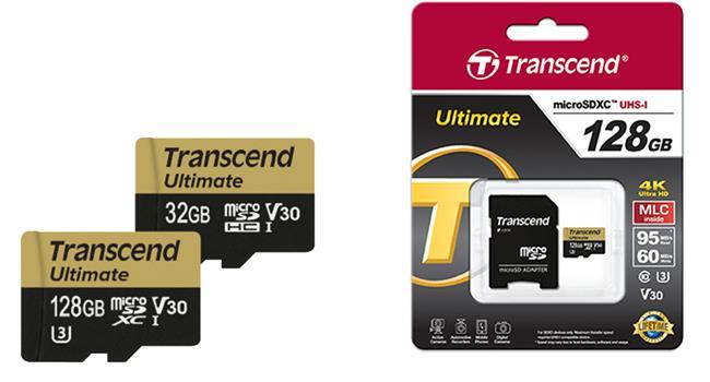 Thẻ nhớ microSD Ultimate hỗ trợ tối ưu 4K của Transcend