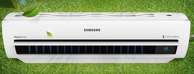 Top máy lạnh Samsung giá rẻ tốt nhất cho mùa hè 2017