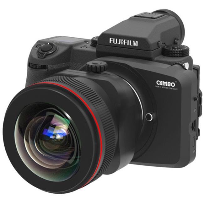 Ngàm chuyển cho phép gắn ống kính tilf-shift Canon lên Fujifilm GFX 50S