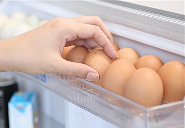 6 lưu ý cần quan tâm khi bảo quản trứng trong tủ lạnh