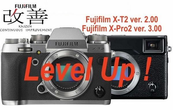 Fuji X-T2 và X-Pro2 cùng nhiều máy ảnh Nikon cập nhật firmware quan trọng