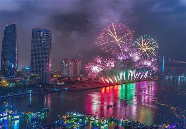 Những địa điểm hot nhất để xem bắn pháo hoa quốc tế tại Đà Nẵng