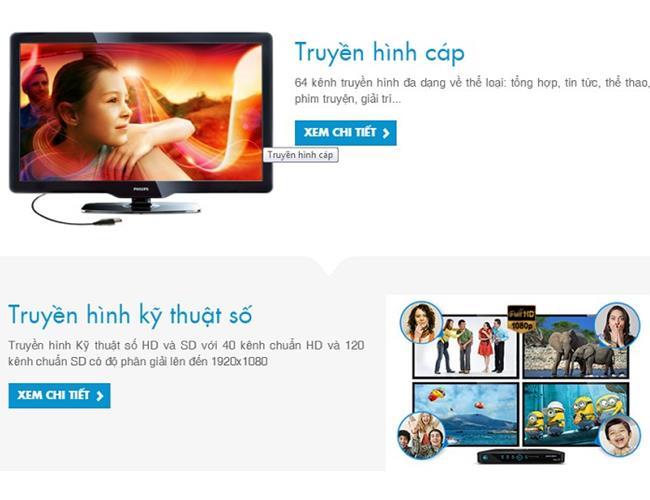 Dịch vụ truyền hình cáp HTVC