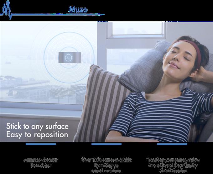 Máy triệt tiêu âm thanh Muzo- khi bạn cần một chút im lặng trong cuộc sống