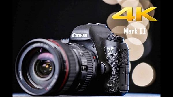 Đón đợi Canon  EOS 6D Mark II chiếc DSLR cảm biến full-frame đầu tiên có màn hình xoay lật