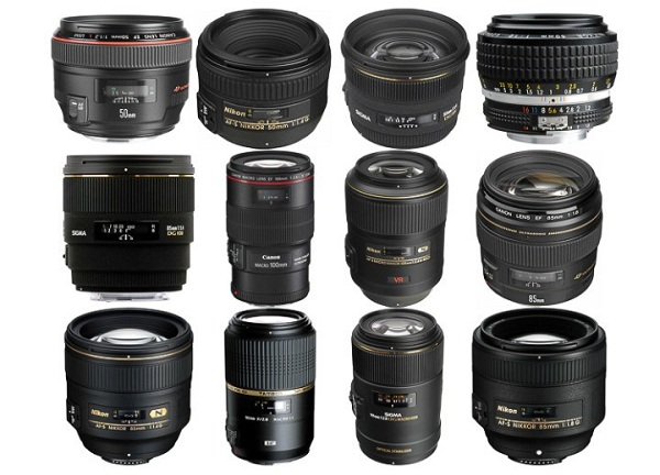 Danh sách ống kính bạn có thể chọn lựa đê nâng cấp từ ống Kit