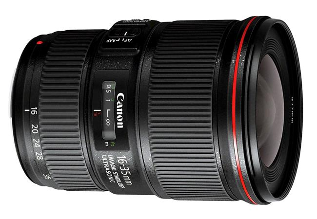 Những ống kính thích hợp nhất cho máy ảnh Canon 6D Mark II