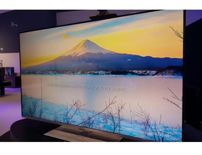 Toshiba gia nhập cuộc đua với model tivi siêu mỏng mới