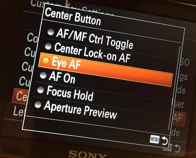 Có phải bạn đã quen tính năng Eye AF thú vị trên máy ảnh Sony ?