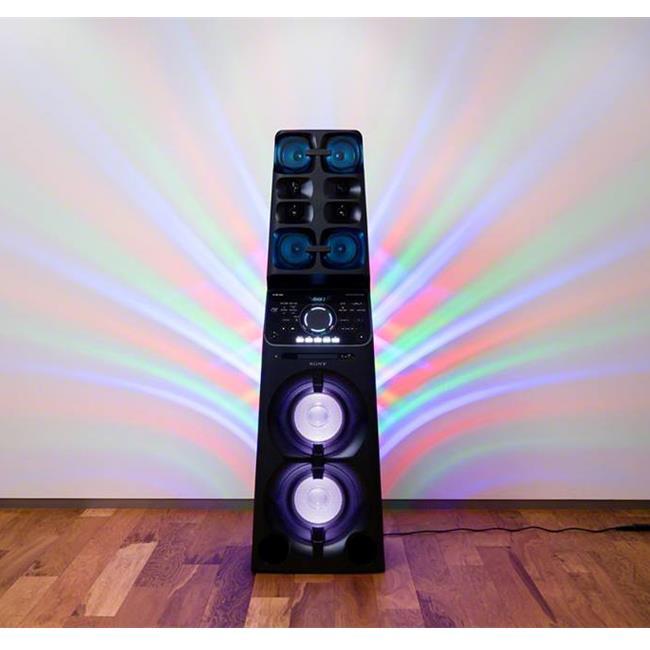 Giải trí thả ga với hệ thống âm thanh MHC-V90W cao 1.7m từ Sony
