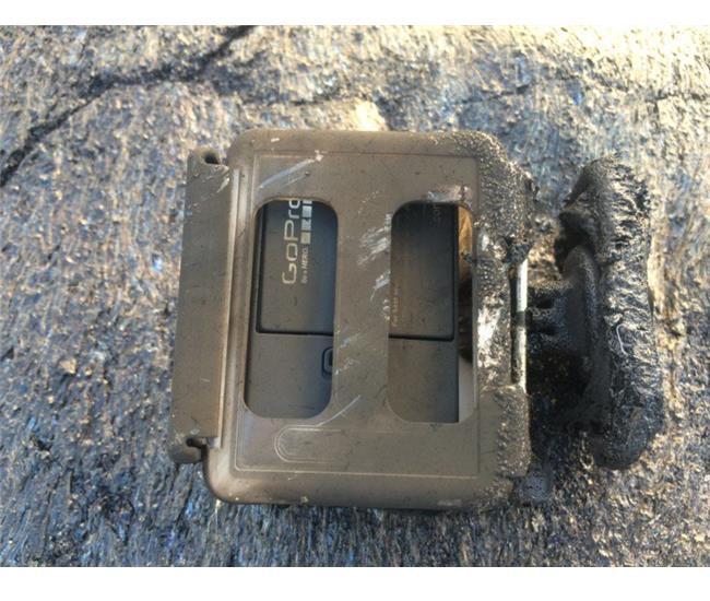 Máy quay GoPro vẫn sống sót dù bị dung nham núi lửa vùi lấp