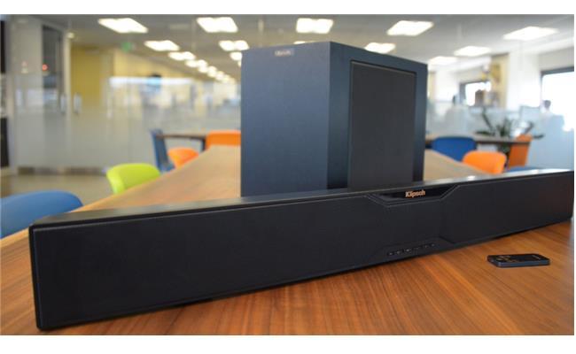 Giải pháp âm thanh vòm gọn nhẹ với loa Klipsch R-10B Sound Bar