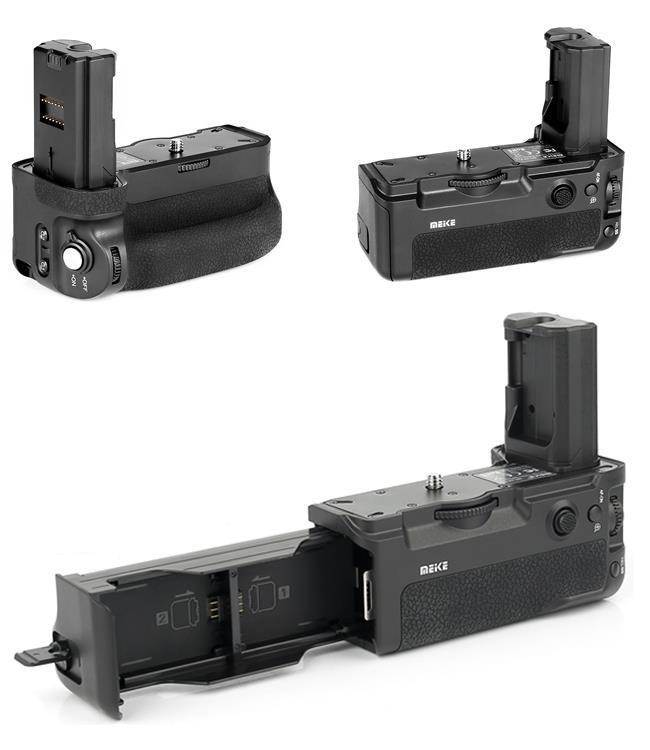 Meike ra mắt Grip pin cùng bộ điều khiển không dây cho Sony A9 và A7R Mark III