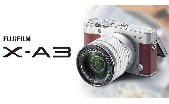 Mời tải về firmware mới nhất cho Fujifilm X-A3, X-A10 và X-A20
