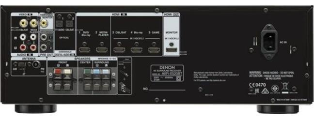 Ampli Denon AVR-X520BTBK