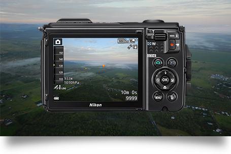 Máy ảnh Nikon Coolpix W300 (Đen)