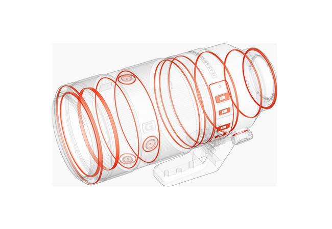 Ống kính Sony FE 100-400mm F4.5-5.6 GM OSS (SEL100400GM)
