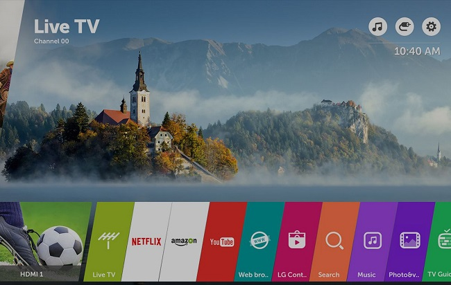 Tivi LG 43UJ652T (Smart TV, ULTRA HD 4K, 43 inch)