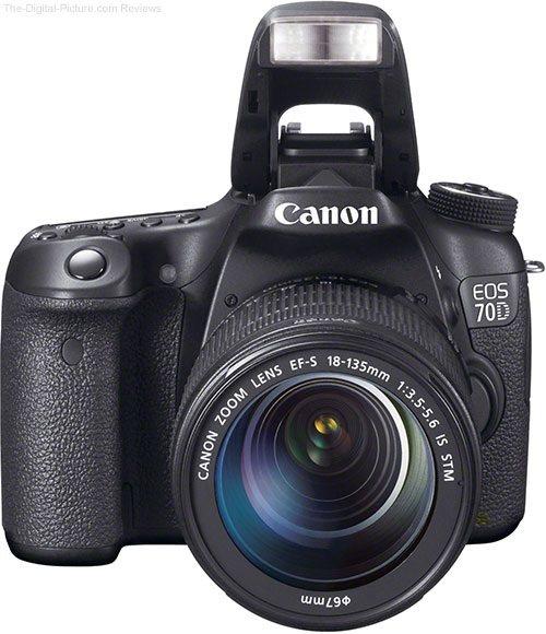 Máy Ảnh Canon EOS 70D Kit EF S18-135 IS STM (Hàng nhập khẩu)